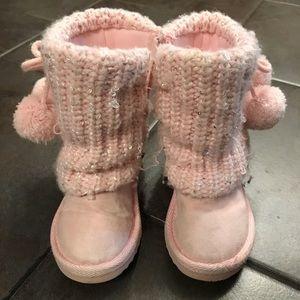 Other - Light pink little girls winter boots.